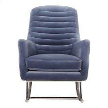 Lars Rocking Chair Blue