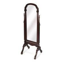 Selected solid woods and choice cherry veneers. Tilt mirror.