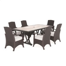 Marsh Creek - Brown 4 Piece Patio Set