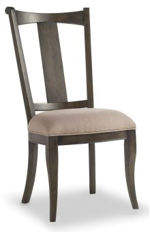 Dining Room Vintage West Upholstered Splatback Side Chair