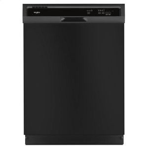 WhirlpoolHeavy-Duty Dishwasher with 1-Hour Wash Cycle Black