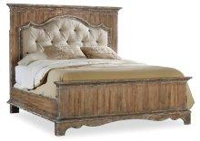 Bedroom Chatelet King Upholstered Mantle Panel Bed