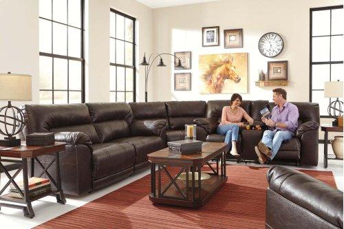 Barrettsville DuraBlend® - Chocolate 3 Piece Sectional