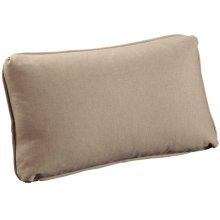 "Throw Pillows Knife Edge Kidney w/welt (14"" x 23"")"