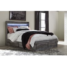 Baystorm - Gray 5 Piece Bed Set (Queen)