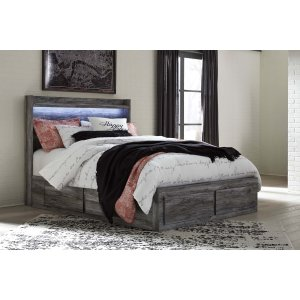 Ashley Furniture Baystorm - Gray 5 Piece Bed Set (Queen)