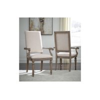 Manor House Upholstered Back Arm Chair Product Image