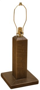 Frontier Table Lamp - Barn Brown - without Lamp Shade Product Image
