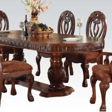QUINLAN PEDESTAL DINING TABLE