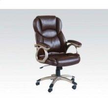 Brown Pu Office Chair