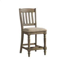 Balboa Park Stool Slat Back w/Cushion Seat