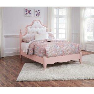 Ashley Furniture Laddi - White/pink 2 Piece Bed Set (Full)