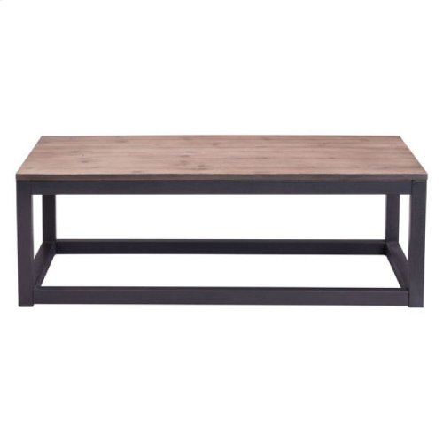 Civic Center Long Coffee Table Distressed Natural
