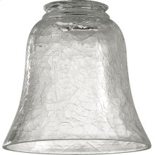 2.25'' CLEAR CRACKLE GLASS