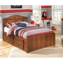 Barchan - Medium Brown 4 Piece Bed Set (Full)