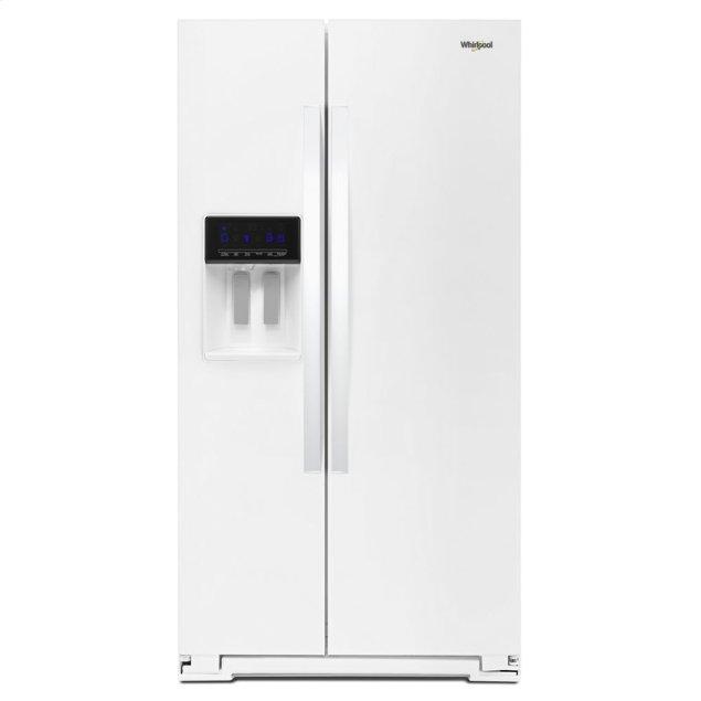 Whirlpool 36-inch Wide Side-by-Side Refrigerator - 28 cu. ft.