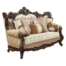 LOVESEAT W/5 PILLOWS