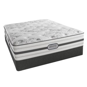 SimmonsBeautyrest - Platinum - Hybrid - Brittany - Plush - Tight Top - Cal King