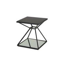 Wedge End Table - Black
