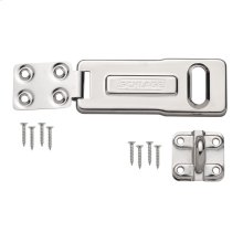 "Hasp  4-1/2"" Steel Bar Hasp - No Finish"
