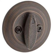 663 Single Sided Deadbolt with Thumbturn - Venetian Bronze