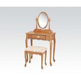 Wood Veneer Vanity Set/oak