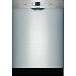 Bosch100 Series Dishwasher 24'' Stainless steel, XXL SHEM3AY55N