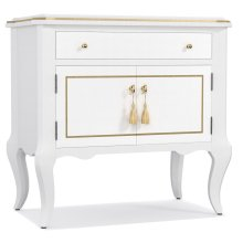 Bedroom Mystique One-Drawer Two Door-Nightstand