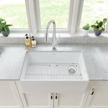 Avery 30 x 20 Single Bowl Apron Kitchen Sink  American Standard - Alabaster White