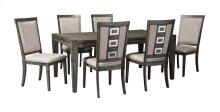 Chadoni - Gray 7 Piece Dining Room Set