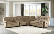 Zavion - Caramel 6 Piece Sectional