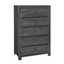 Drawer Chest - Charcoal Finish