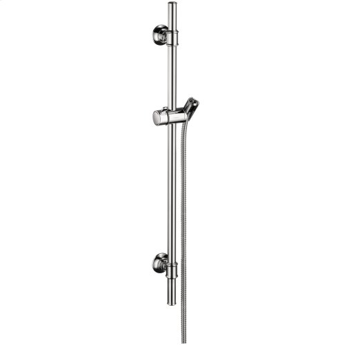 Chrome Shower set 0.90 m with hand shower 100 1jet