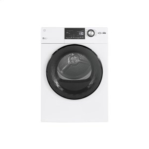 "GE  ®24"" 4.3 Cu.Ft. Front Load Vented Electric Dryer with Stainless Steel Basket"