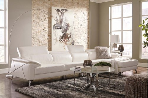 Tindell - White 3 Piece Sectional