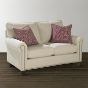 Custom Upholstery Medium Loveseat