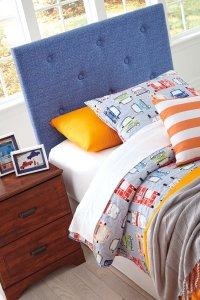 Twin Upholstered Headboard Product Image