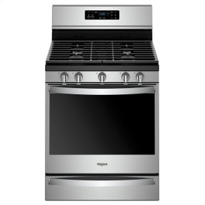 5.8 cu. ft. Freestanding Gas Range with Frozen Bake Technology - FINGERPRINT RESISTANT STAINLESS STEEL