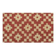 Doormat Mathis Spice Red 18x30