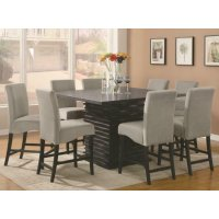 Stanton Contemporary Black Five-piece Dining Set Product Image