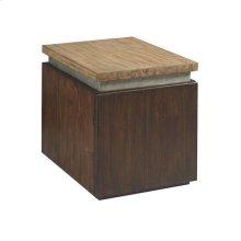 Modern Origins Cube End Table