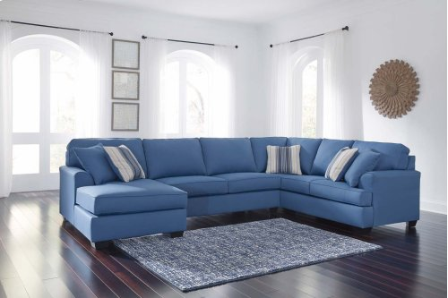 Brioni Nuvella® - Blue 3 Piece Sectional