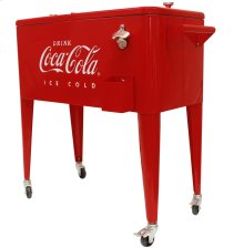 "80QT COCA-COLA COOLER ""ICE COLD"" EMBOSSED"
