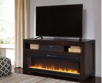 Rogness - Dark Brown 3 Piece Entertainment Set Product Image