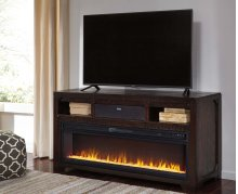 Rogness - Dark Brown 3 Piece Entertainment Set