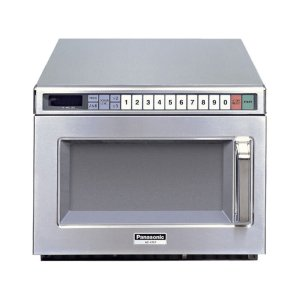 Panasonic1200 Watt Compact Commercial Microwave Oven with 60 Programmable Memory Pads