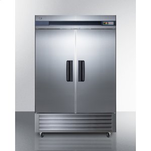 Summit49 CU.FT. Commercial Reach-in All-freezer In Complete Stainless Steel