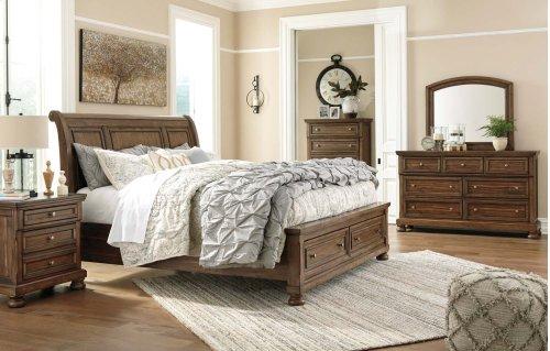 Flynnter - Medium Brown 2 Piece Bedroom Set