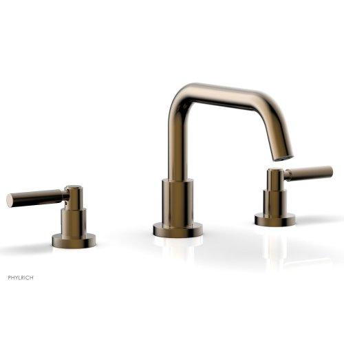 BASIC Deck Tub Set - Lever Handles D1132D - Antique Brass