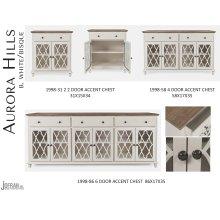 Aurora Hills 2 Door Accent Chest-b. White/bisque
